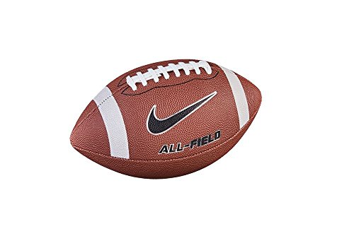 NIKE All Field 3.0 Football, brown/white/metallic, 9