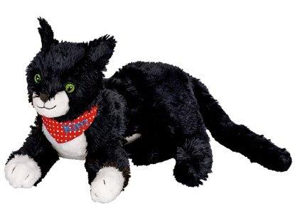 Spiegelburg 11700 - giocattolo bambini - Tim il gatto nero peluche - dolce coccola ideale per tutte le case