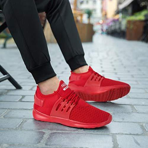 Uomo Donna Scarpe da Ginnastica Sportive Sneakers Running Basse Basket Sport Outdoor Fitness Sneakers- Molti Colori 36EU-46EU