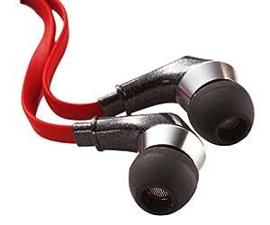 Perixx AX-4000, Casque intra-auriculaires - Casque gamer - Boitier aluminium - En ligne Omni microphone directionnel - Cas portant de voyage - Compatible avec iPhone, Android et appareils mobiles