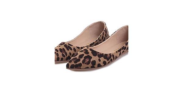PDX/Damen Schuhe flach Absatz spitz Toe Wohnungen Kleid Schwarz/Rosa/Rot/Grau, - black-us5.5 / eu36 / uk3.5 / cn35 - Größe: One Size