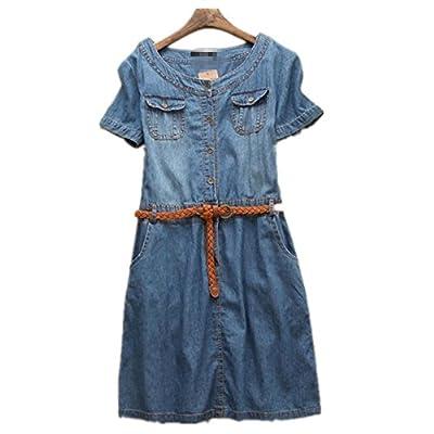MYM Women 's Jeans-Kleid