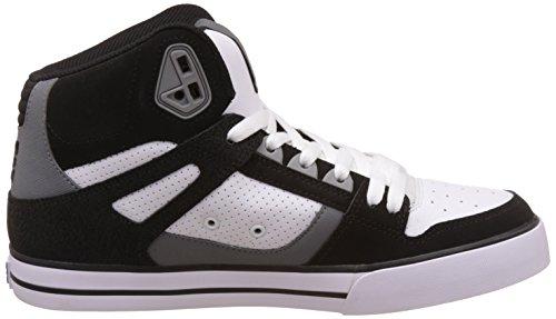 DC Universe Spartan High WC, Sneaker Alte Uomo Black