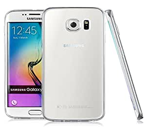 Real Shopping Premium Soft Silicone 0.3mm TPU Transparent Clear Case Soft Back Case Cover For Samsung Galaxy S6 edge