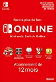 Abonnement Nintendo Switch Online - 12 Mois | Nintendo Switch - Version digitale/code | Code jeu à télécharger...