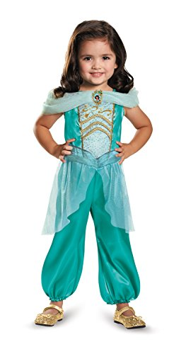 ine Toddler Classic Costume, Medium (3T-4T) by Disguise (Jasmine Party Supplies)