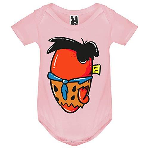 LookMyKase Body bébé - Fred - Bébé Fille - Rose - 9MOIS