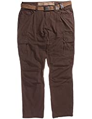 exxtasy Bolton Men's Trousers Red Brick Size:40