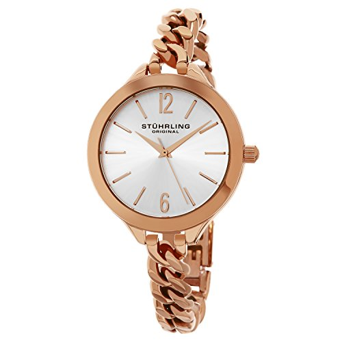 Stuhrling Original Damen-Armbanduhr Vogue Analog Quarz 624M.03