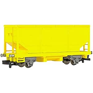 Bachmann Trains Chuggington Locomotive Yellow Hopper Car, HO Scale