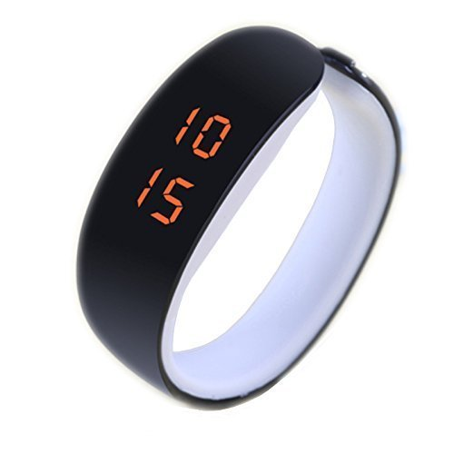 Aaradhya Fashion Digital Led Black Dial Unisex Watch