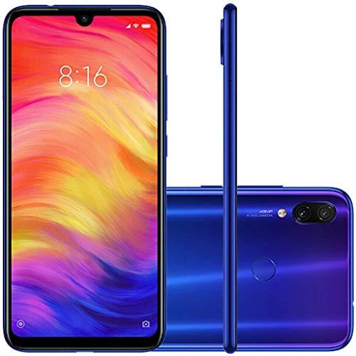 """Xiaomi Redmi Note 7 4GB 64GB Smartphone S660 Octa Core 4000mAh 6.3"""" FullScreen 2340x1080,cámara Principal 48 + 5MP, cámara Frontal 13 MP, Azul"""