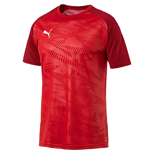 Puma Herren Cup Training Jersey Core Trainingsshirt, Red-Chili Pepper, 3XL -