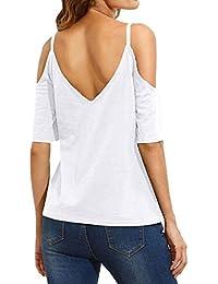 Amazon.es: Ropa Para Gorditas - Camisetas / Camisetas, tops y blusas: Ropa