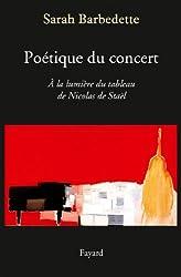 Poétique du concert (Musique)