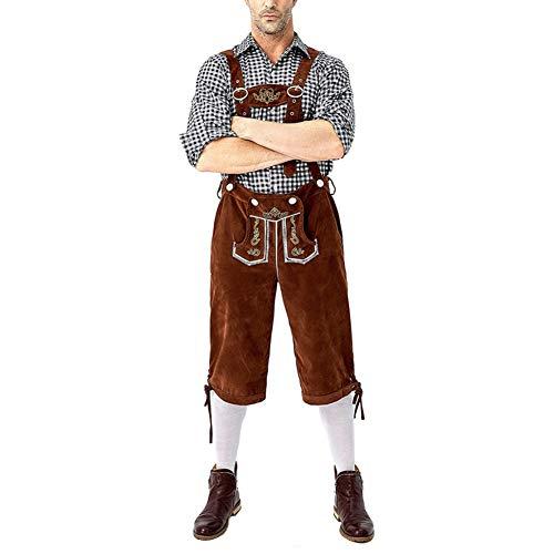 Guy Kostüm Oktoberfest - JstDoit Adult Oktoberfest Bayerischer Mann Kostüm Truhe Bier Guy Short Lederhosen Set Kostüm