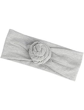 Chen Rui (TM) Muchachas Recién Nacidas Bebé Ata el Nudo Venda el Headwear Elástico Turbante