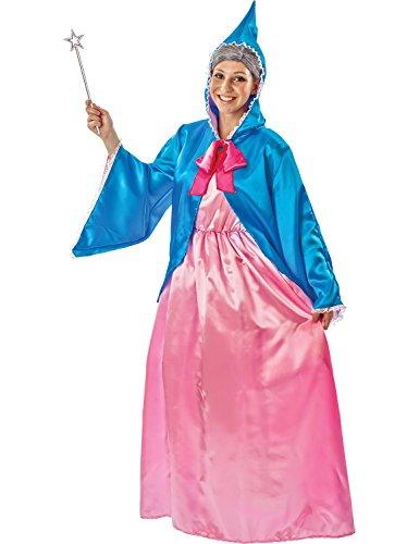 Erwachsene Fee Patin Aschenputtel Kostüm Karneval Fasching Verkleidung Medium