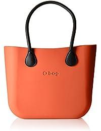 O bag - Obdy54_obhl02, Bolsos de mano Mujer, Arancione (Papaya), 38x31x14 cm (W x alto largo)