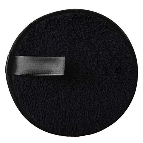 PETUNIA Soft Microfiber Makeup Remover Towel Cloth Pads Remover Towel Cleansing Towel - Black