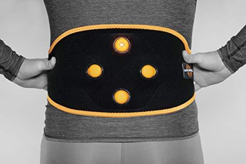 MYOVOLT Tragbar Massage Technologie für Rücken & Core/Vibration Therapie Gerät/Warm up, Lösen, und Relax Wunde & Steifen Muskeln/Rückenschmerzen Relief