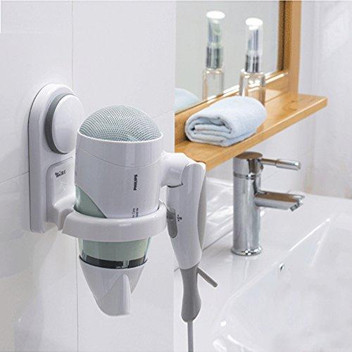 Haartrockner Halter Fönhalter strong sauger typ bad toilette wandbehang ram frame regal-A