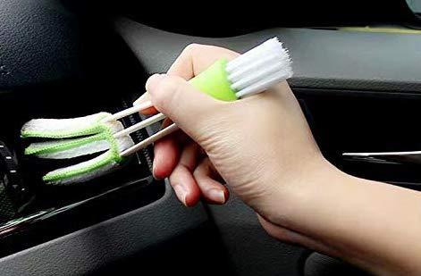 XiZiMi 1pc Reinigungsbürste Auto Klimaanlage Outlet Pinsel Auto Slot Brush Corner Instrumententafel Pinsel Lattenfensterladen Bürsten