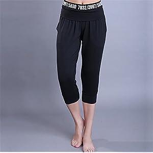 Darrin Sport Yoga Hose weibliche Haremhosen Hosen Sieben Buchstaben personalisierte Fitness Yoga-Kleidung