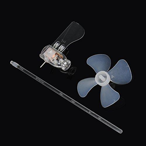 Smallest Mini Wind Turbines Generator LED Teaching