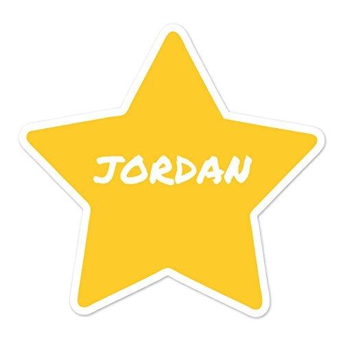 JOllify Aufkleber - JORDAN – Farbe: Design: Stern Jordan Aufkleber