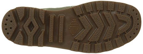 Palladium Herren Pampa Hi Hohe Sneaker Grün (Vetiver/mid Gum K89)