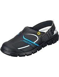 """Abeba 37331-37 talla 37 """"dinámicas"""" ESD-ocupacional-solución zapato - color negro/azul"""