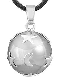 Eudora Harmony Ball - Colgante de bola para mujer, joyería para maternidad