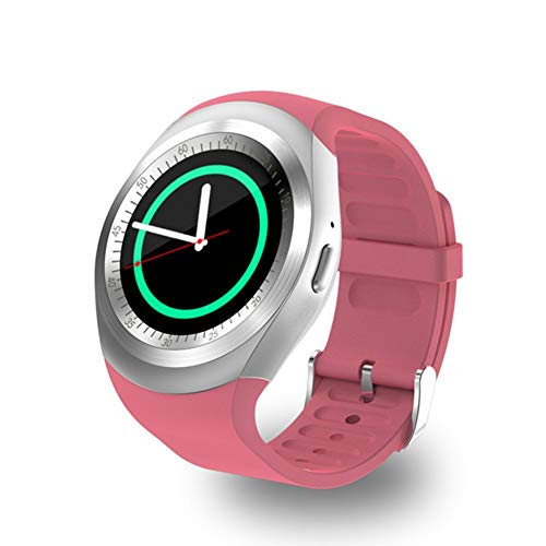 QCHNES Intelligente Uhr, Wasserdichtes Sport Bluetooth Armband Der Mann Frauen Modelle IP67, Intelligente Kartenanrufuhr des Eignungsverfolgers SIM, Touch Screen, 1,33 Zoll IPS Sms-quad
