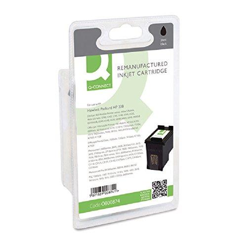 Preisvergleich Produktbild Q-Connect HP 338Wiederaufbereitete Inkjet Patrone C8765E–Schwarz