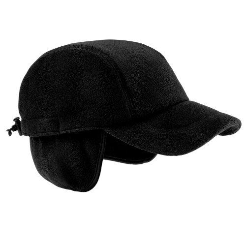Beechfield Unisex SUPRAFLEECE™ EVEREST CAP Black