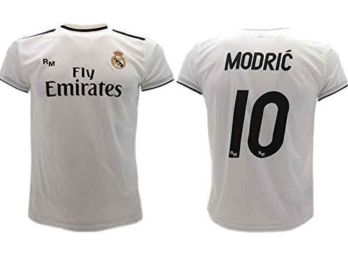 Real Madrid Luka Modric 2018-2019 - Camiseta de fútbol Oficial para niños, 6 años