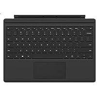 غطاء بلوحة مفاتيح لجهاز مايكروسوفت سيرفيس برو 4 - لوحة مفاتيح انجليزي-عربي، اسود