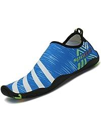 SAGUARO® Barefoot Water Shoes Quick Drying Beach Swim Surf Aqua Socks for Women Men Unisex