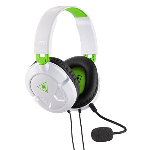 Turtle Beach Recon 50x Cuffie di Gioco, Bianco - XboxOne/PS4/PC