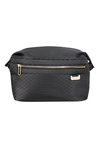 SAMSONITE Uplite Toilet Case Kulturtasche, 27 cm, 6 L, Black/Gold