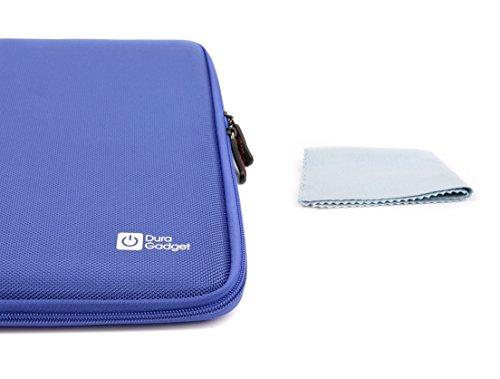 DURAGADGET Robuster Schutz für unterwegs: Hartschalen-Etui in Blau für Vtech Preschool Colour Tablets (Pink/Blau) -