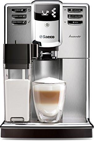 Saeco HD8917/01 Incanto Kaffeevollautomat (1850 Watt, AquaClean, integrierte Milchkaraffe) silber - 7