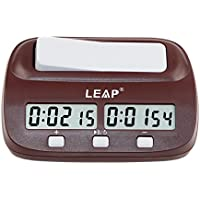 Leap Digital Multifunctional Display Chess Clock Count Up Down Timer Electronic Board Game Competition Clock