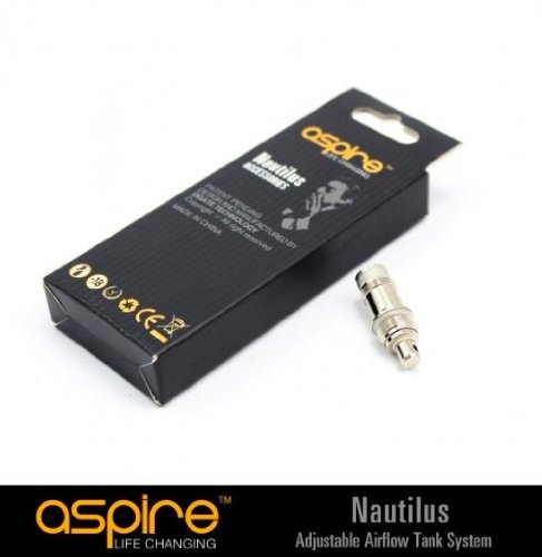Aspire Nautilus Ersatz Zerstäuber Köpfe, echte Original Authentic Aspire Nautilus BVC Spulen 1.8 Ohm - 5 Stück