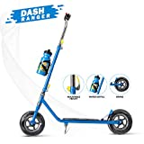 Dash 2 Wheel Power Ranger Blue Scooter for Kids with Sipper, Bell n
