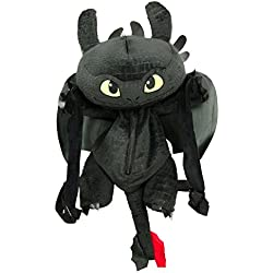 Dreamworks Dragones Desdentao Toothless 3D peluches mochila, 60 cm