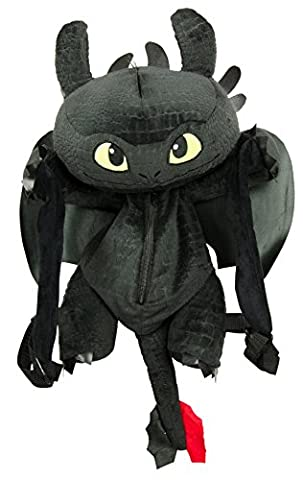 Dreamworks Dragons Toothless 3D Backpack 23 inch / 60 cm