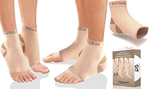 Physix Gear Sport Fascite plantare Fußbandage Mittelfuß,