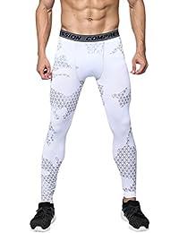Homme Sport Pantalon de Compression Leggings Sport Collant Camouflé Imprimé 7865b67b0a4